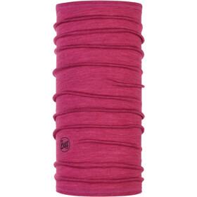 Buff Lightweight 3/4 Merino Wool Neck Tube Purple Multi Stripes